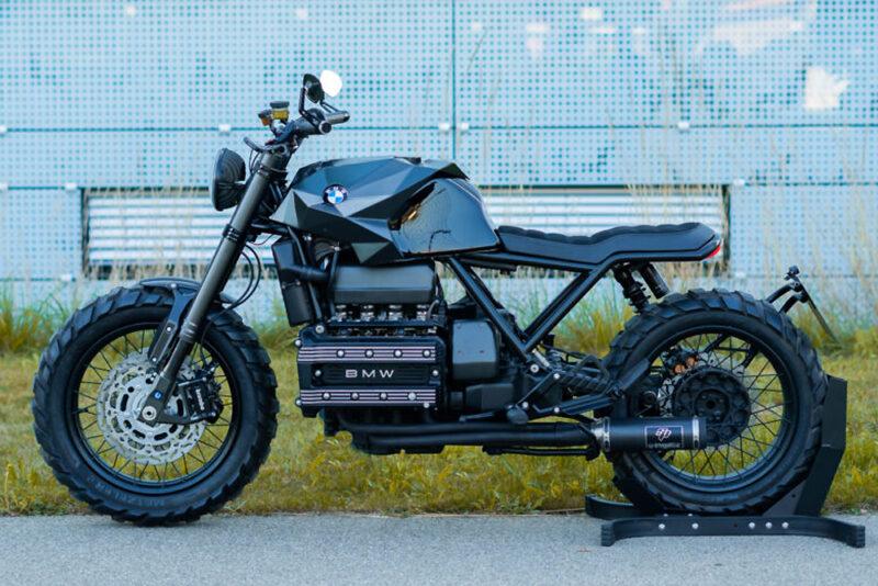 Кастом BMW K100 1986 года от Crooked Motorcycles