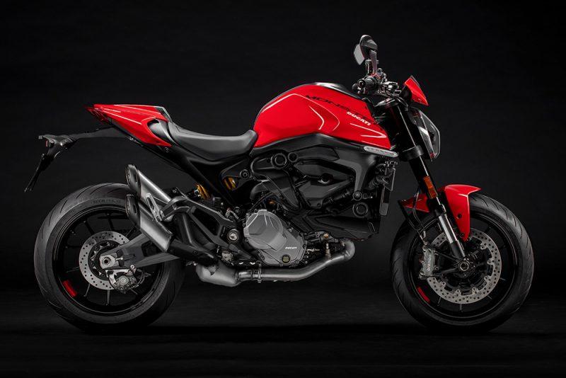 Облегченный Ducati Monster 2021 года