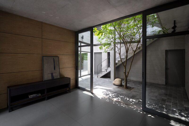 Дом из бетона на севере Вьетнама