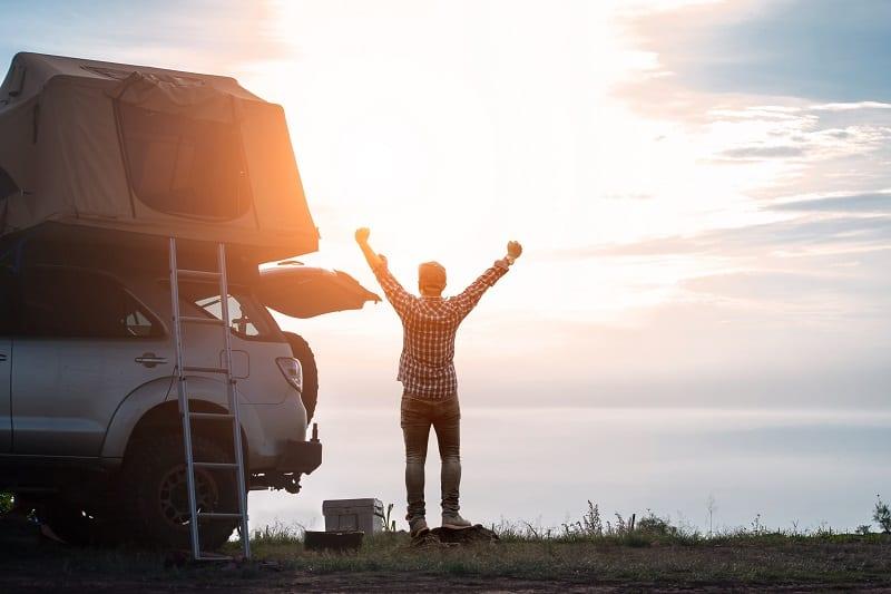 7 лучших палаток на крышу автомобиля