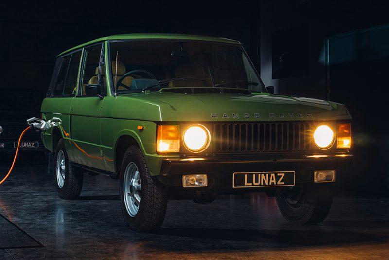 Lunaz превращает классические Range Rover в полностью электрические внедорожники 4×4