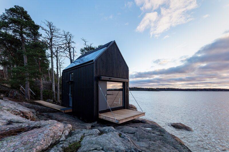 Автономный эко-дом Majamaja с системой очистки воды и солнечными панелями