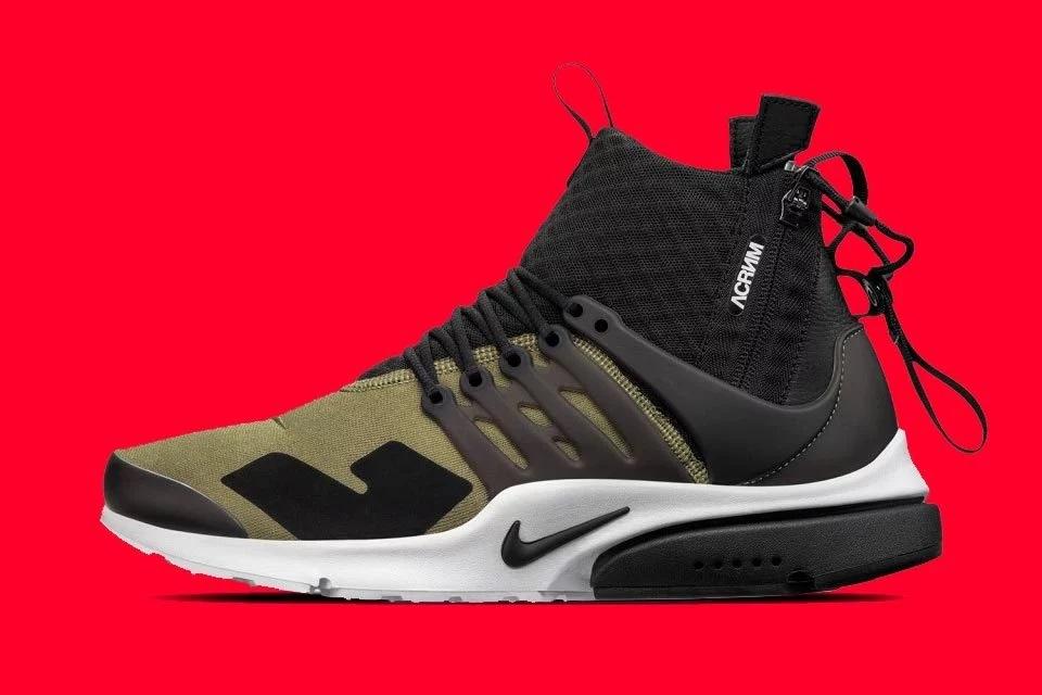 ACRONYM x Nike Air Presto Mid - 2016