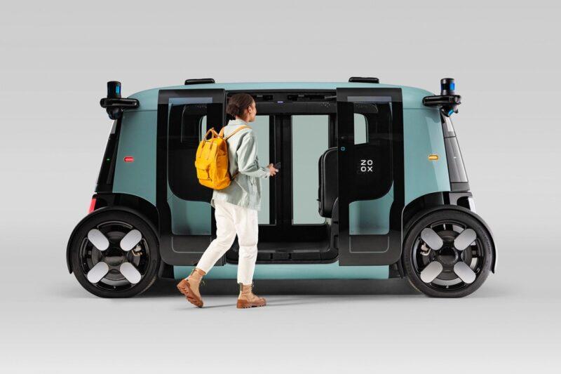 Amazon Zoox представляет новое беспилотное робо-такси