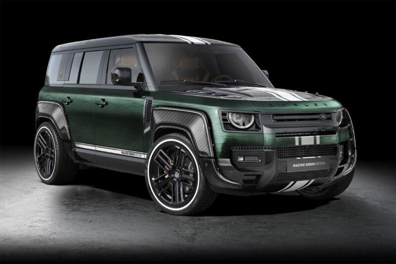 Land Rover Defender от польской студии Carlex Design