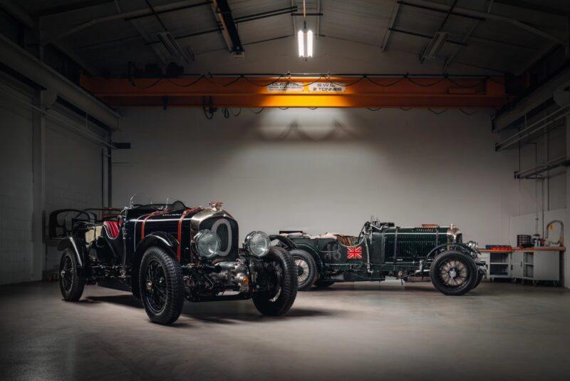 Bentley сделал копию своей модели 1929 года Blower Continuation «Car Zero»