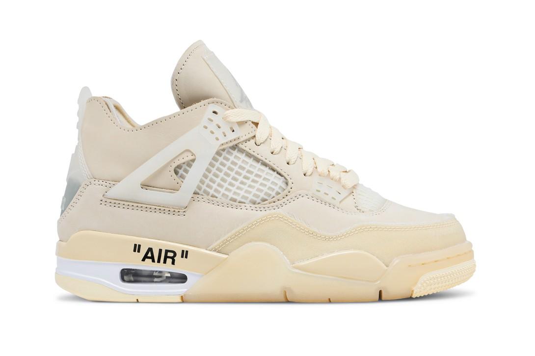 Off-White ™ x Air Jordan 4 SP «Sail»