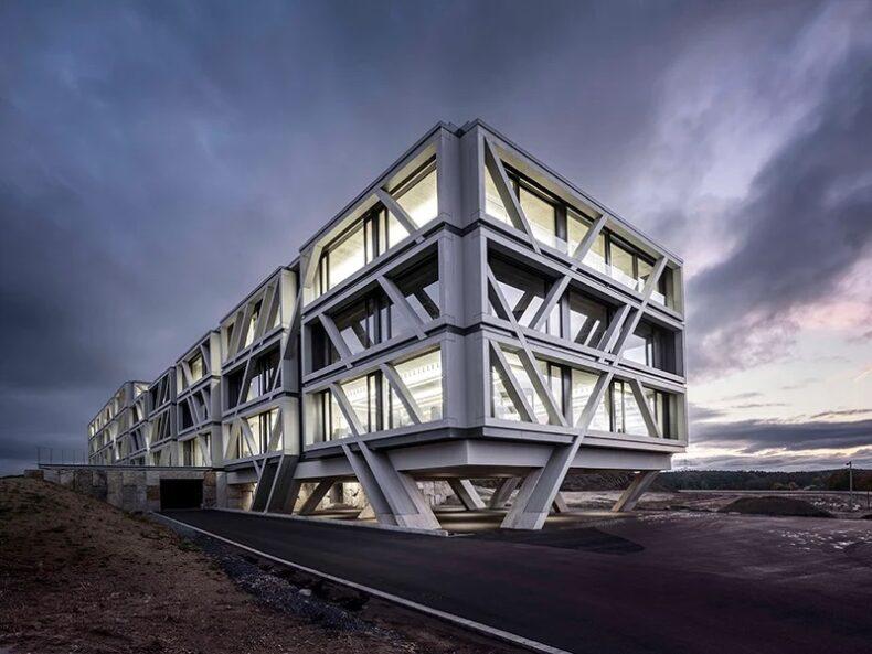 Офисное здание в Германии для сотрудников SAP