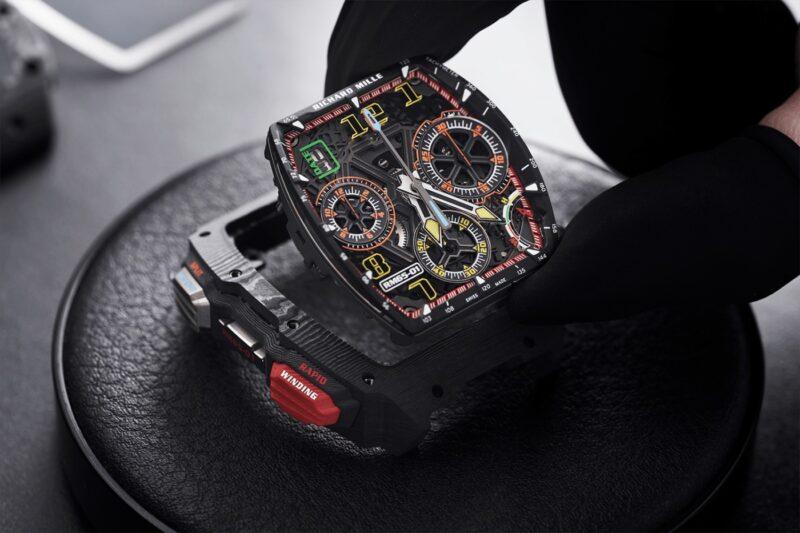 RM 65-01 — самые сложные часы от Richard Mille