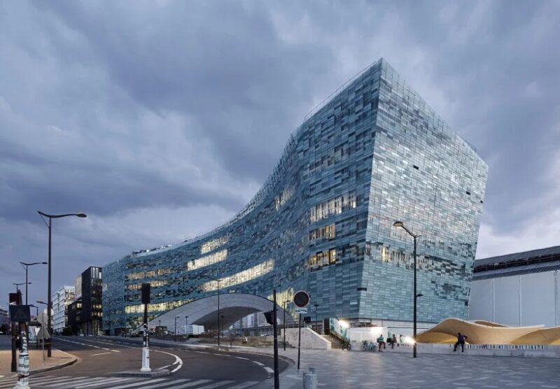 Штаб-квартира Le Monde Group, спроектированная студией Snøhetta