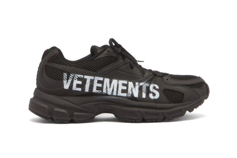 Совместные кроссовки Vetements и Reebok «Spike Runner 200»