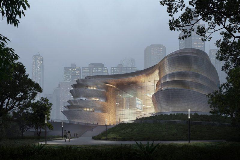 Музей науки и технологий от Zaha Hadid Architects в Шэньчжэнь