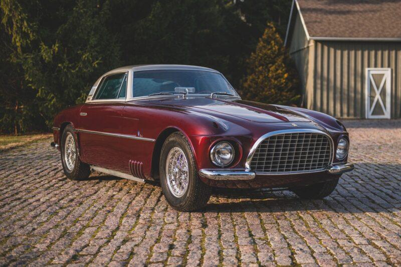 Эксклюзивный Ferrari 375 America Coupe 1954 года от Vignale