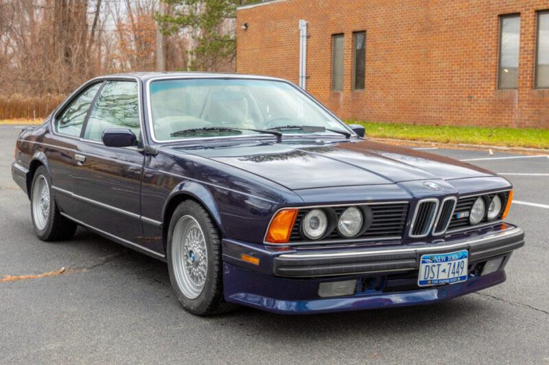 Аукционный BMW M6 1988 года в кузове E24