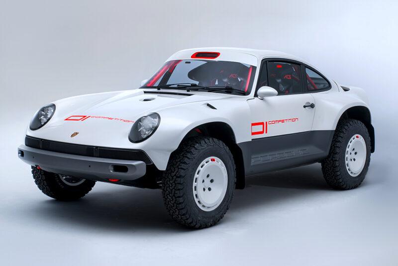 Раллийный Porsche 911 от Singer Vehicle Design