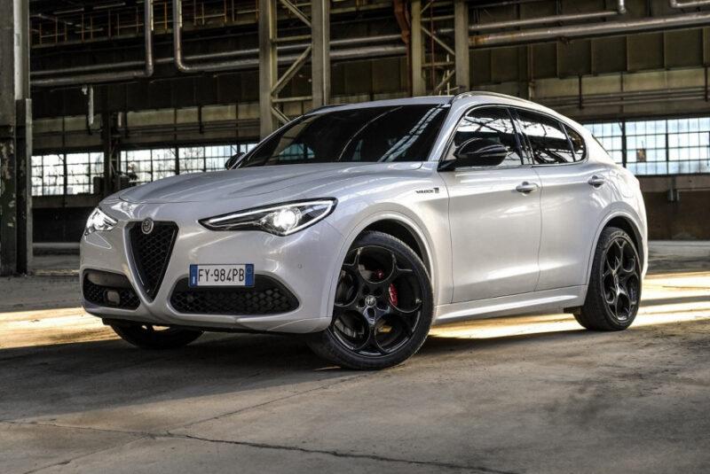 Новая версия Alfa Romeo Stelvio Veloce Ti с европейскими нормами E6d