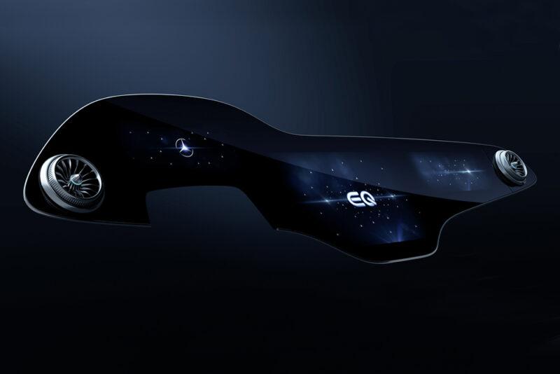 Mercedes-Benz создал 56-дюймовый дисплей с искусственным интеллектом в электромобиль