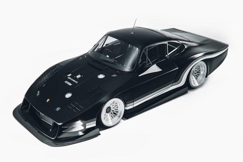 Футуристичный Porsche 935L от ACRONYM  и Bisimoto