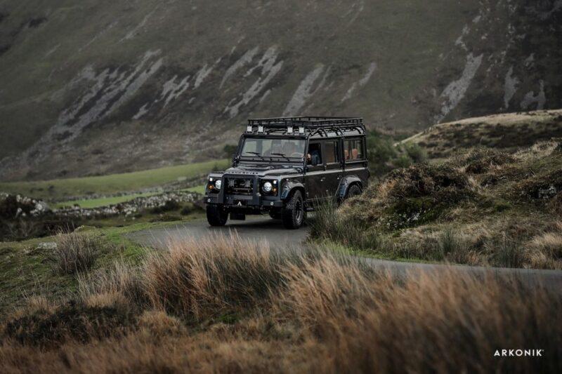 Впечатляющий внедорожник Arkonik Catalyst Land Rover Defender D110