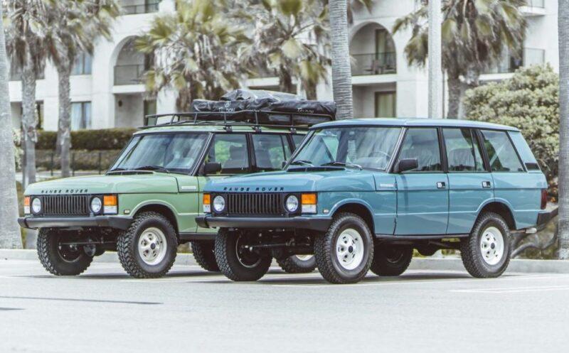 Range Rover от студии Brooklyn Coachworks