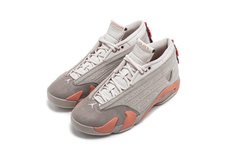 CLOT & Jordan 14 «Terracotta»