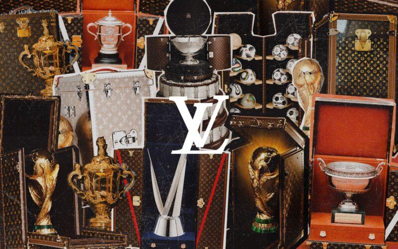 История футляров Louis Vuitton для трофейных кубков