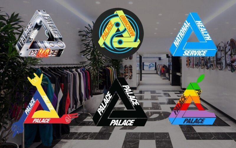 История создания логотипа бренда одежды Palace