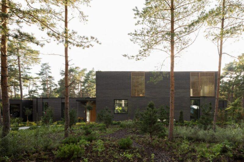 Вилла Tennisvägen от Johan Sundberg Arkitektur в Швеции