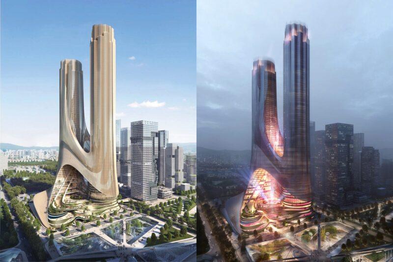 Проект «Tower C» от Zaha Hadid Architects
