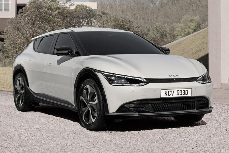 Kia представила новый электрический кроссовер EV6