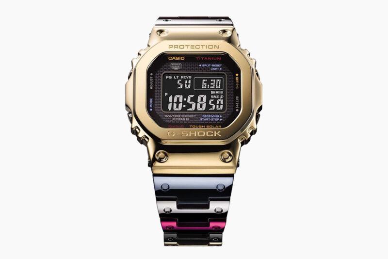 Часы G-SHOCK GMW-B5000TR-9 из нового сплава Tran Tixxii