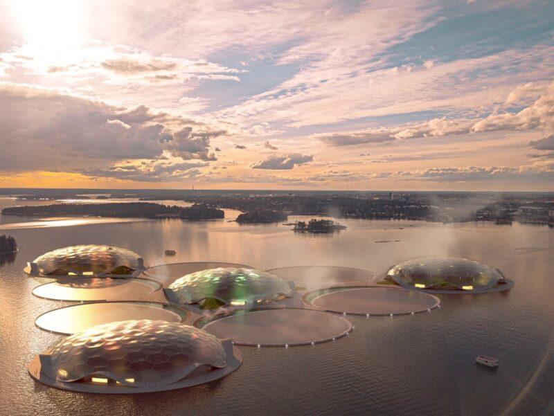 Проект остров около Хельсинки для аккумулирования тепловой энергии