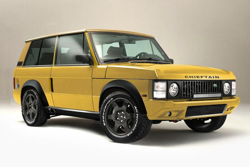 Range Rover Xtreme от студии Chieftain