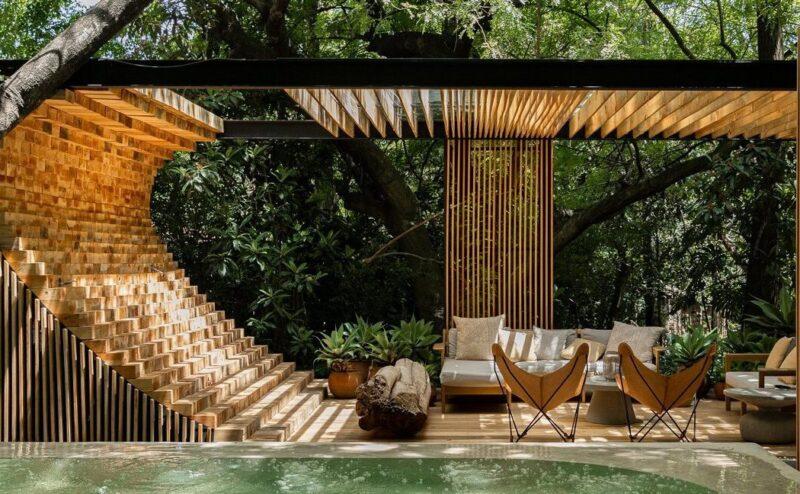 Современной мексиканский дом Casa Mague от Mauricio Ceballos X Architects