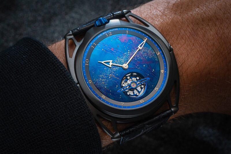 Часы De Bethune DB28 XP с применением метеорита Муонионалуста