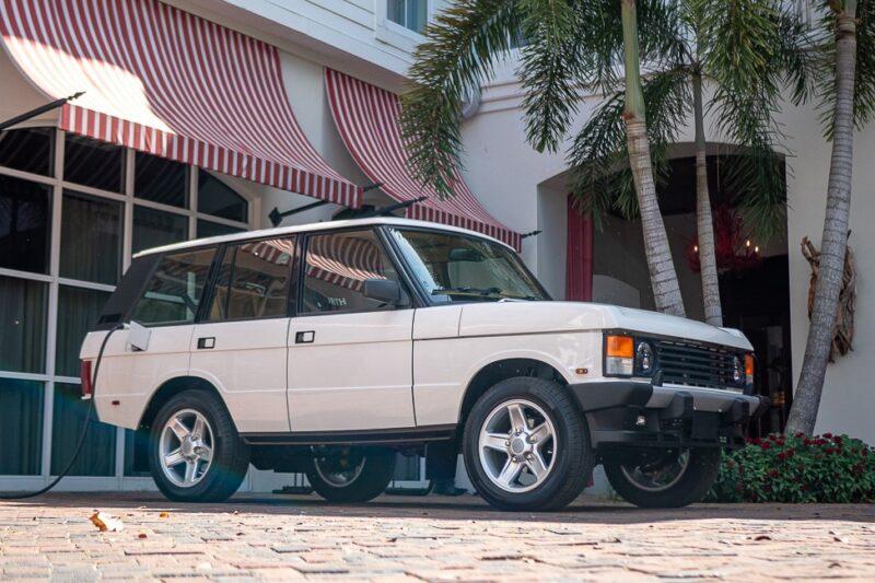Range Rover Classic с электрическим двигателем, разработанный ECD Automotive Design