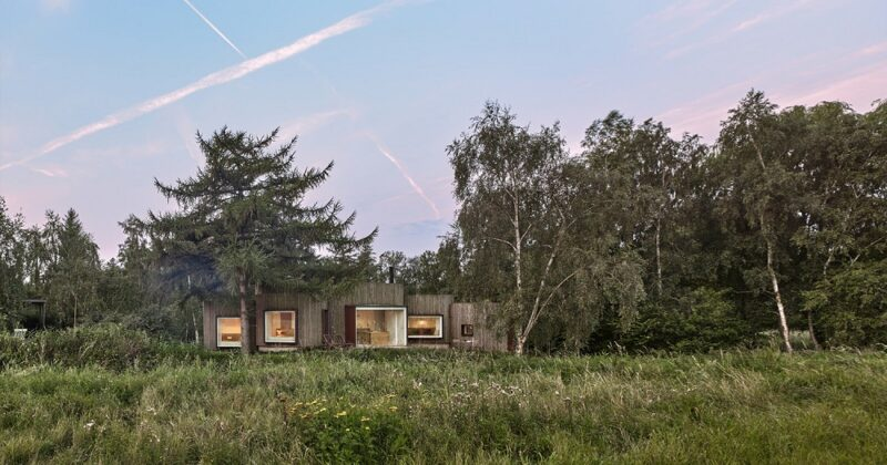 Дом в Дании от студии Jan Henrik Jansen Arkitekter