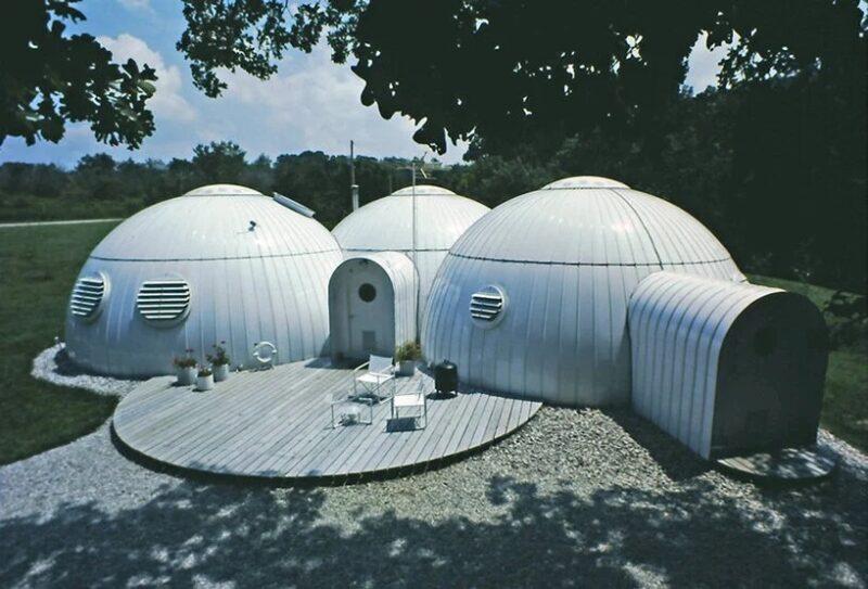 Купольный энергоэффективный дом Майкла Янцена 1982 года