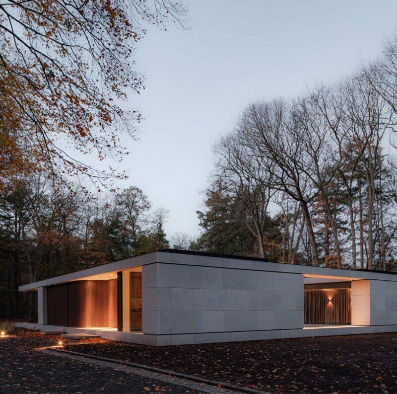 Каменная вилла в Нидерландах, спроектированная дизайн студией Powerhouse