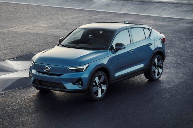 Volvo представила полностью электрический C40 Recharge