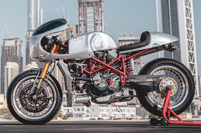 Кафе-рейсер Ducati 996 «Project X» от компании Vendetta Racing