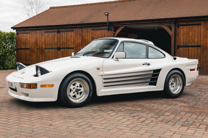Необычный Rinspeed Porsche R69 Turbo выставлен на аукционе