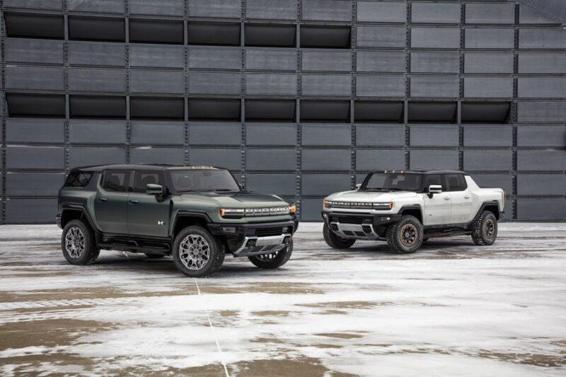 Подробности выпуска электро внедорожника и пикапа GMC Hummer EV