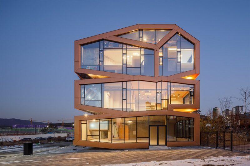 Южнокорейские архитекторы создают необычные квартиры недалеко от Сеула