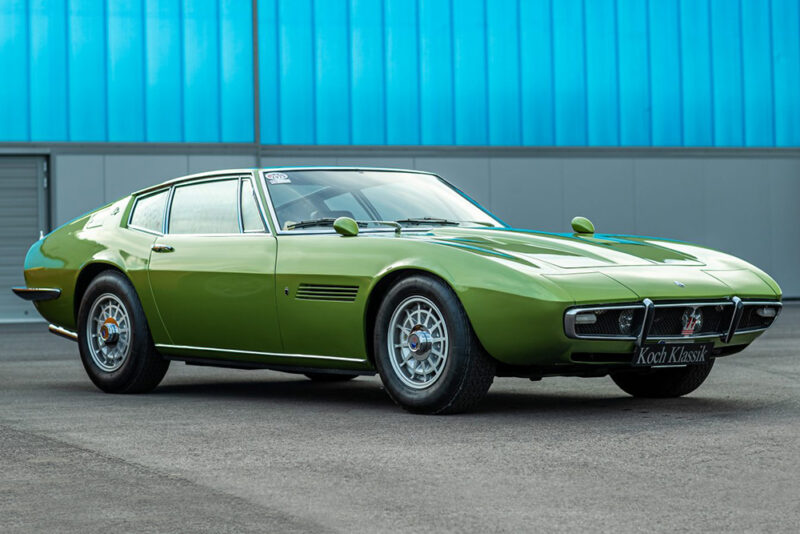 Предсерийный образец Maserati Ghibli V8 4.9 SS мощностью 330 л.с.