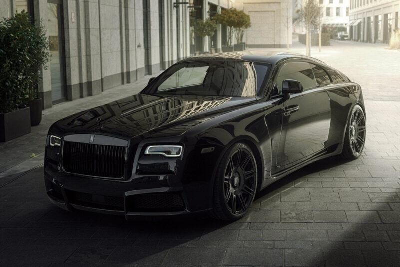 Эксклюзивный Rolls-Royce Wraith от NOVITEC