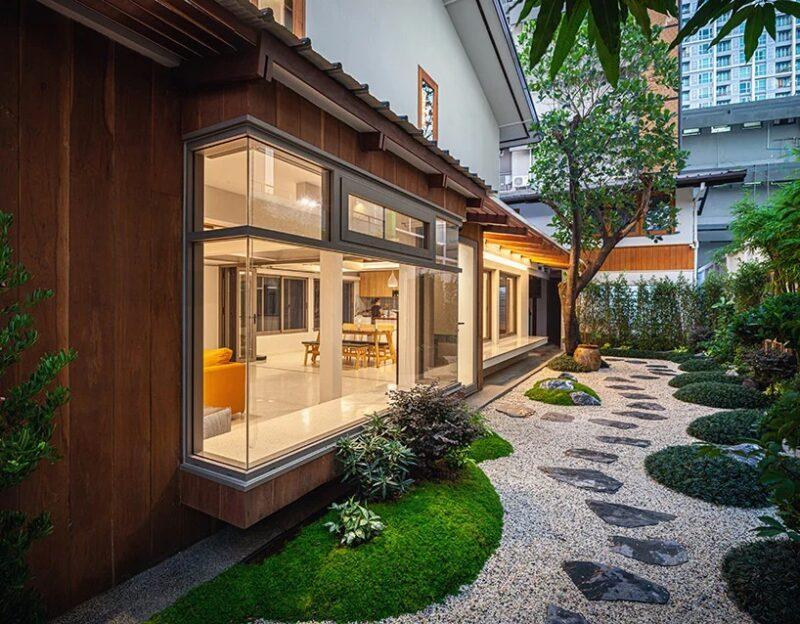Обновленный 80-летний дом в Бангкоке от студии Junsekino