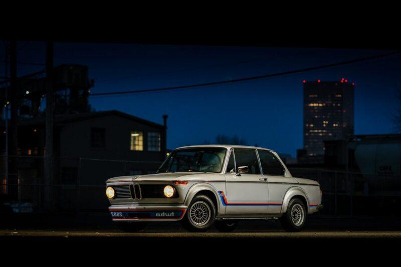 Аукционная BMW 2002 Turbo 1974 года