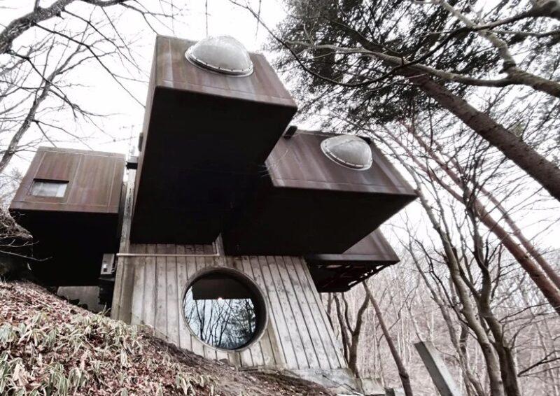 «Капсульный дом К» 1972 года принадлежащий архитектору Кисё Курокава