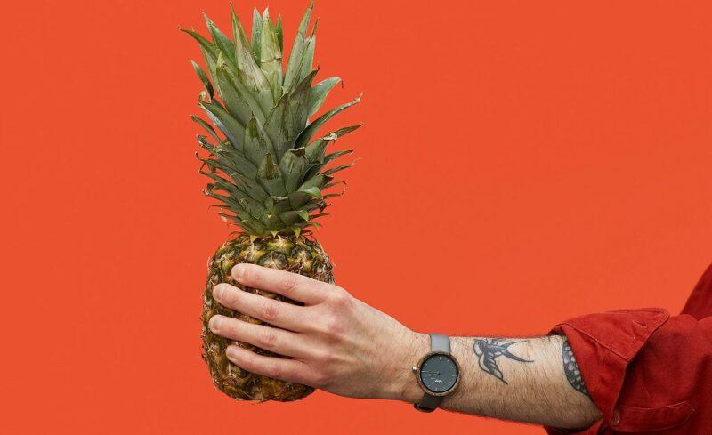 Часы «hemp MVMNT» из технической конопли и листьев ананаса